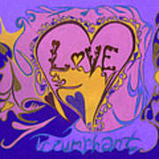 Love Triumphant Art Print by Kenneth James