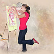 Love Your Art Art Print