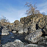Lovejoy Basalt Formations  Art Print
