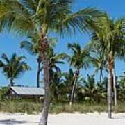 Lovely Beach On Key West East Side Art Print