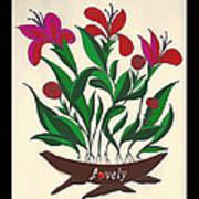Lovely  Art Print by Joe Greenidge