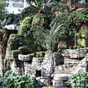 Lovely View Inside The Opryland Hotel In Nashville Tennessee 2009 Art Print