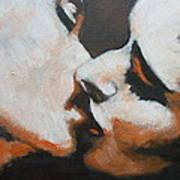 Lovers - Kiss6 Art Print