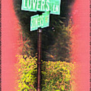 Lovers Lane Art Print