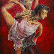 Lovers Red 04 Art Print