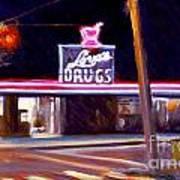 Love's Drugs Art Print