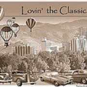 Lovin The Classics II Art Print