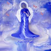 Loving Angel Of Peace Art Print by Sherri's Of Palm Springs