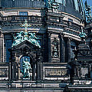 Low Angle View Of A Church, Berliner Art Print