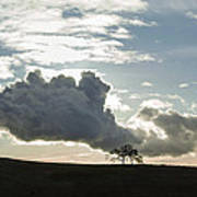 Low Clouds Art Print