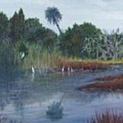 Low Country Social Art Print