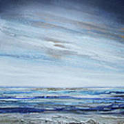 Low Newton Beach Rhythms And Textures 3 Art Print by Mike   Bell