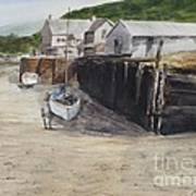 Low Tide At High Noon Art Print