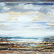 Low Tide Hauxley Haven No10 Art Print by Mike   Bell