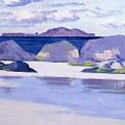 Low Tide  Iona Art Print by Francis Campbell Boileau Cadell