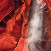 Upper Antelope Canyon Litebeam Art Print