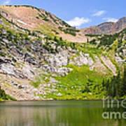 Lower Crater Lake Art Print
