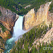 Lower Falls Yellowstone 2 Art Print