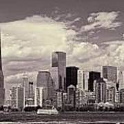 Lower Manhattan Skyline 2 Art Print