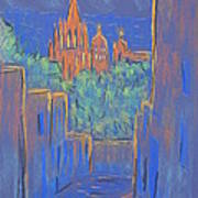 Lower San Miguel De Allende Art Print by Marcia Meade