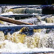 Lower Tequamenon Falls Art Print