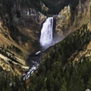Lower Yellowstone Falls Fall Art Print