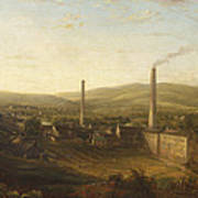 Lowerhouse Print Works, Burnley Art Print