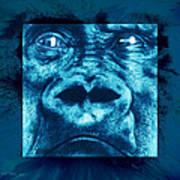 Lowland Gorilla Art Print