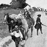 Loyalists To Canada Art Print