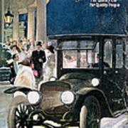 Lozier Cars - Vintage Advertisement Art Print