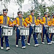 Lsu Marching Band Art Print by Steve Harrington