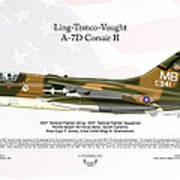 Ltv Ling Temco Vought A-7d Corsair II Art Print