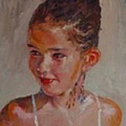 Lucia Al Mediodia Art Print
