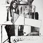 Lucia En Cor Art Print