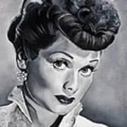 Lucille Ball Art Print