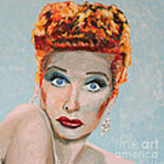 Lucille Ball Portrait Art Print