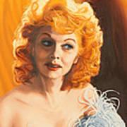 Lucille Desiree Art Print