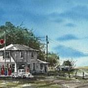 Lucille's On Route 66 Art Print