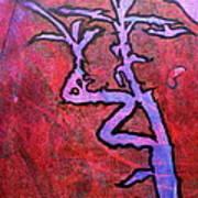 Lucky Bamboo Art Print by Debi Starr