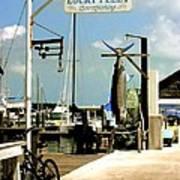 Lucky Fleet Key West  Art Print
