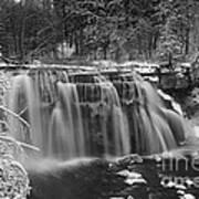 Ludlowville Falls In Winter I Art Print