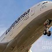Lufthansa Airbus A-380 Art Print