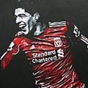 Luis Suarez - Liverpool Fc 2 Art Print