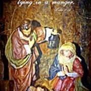 Luke 2 12 Art Print