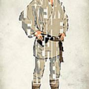 Luke Skywalker - Mark Hamill  Print by Ayse Deniz