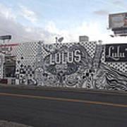 Lulu's Street  Art Print