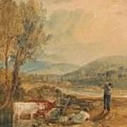 Lulworth Castle Art Print