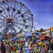 Luna Park 2013 - Coney Island - Brooklyn - New York Art Print
