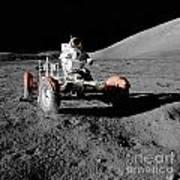 Lunar Ride Art Print