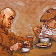 Lunchtime At Tim  Art Print